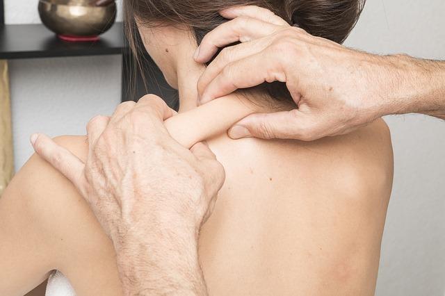 svalová masáž