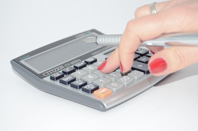 moderní kalkulátor