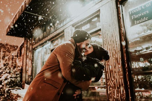 zamilovaní v zimě