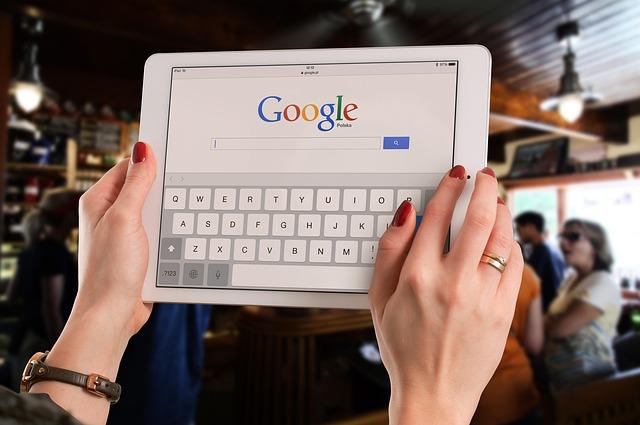 tablet v restauraci