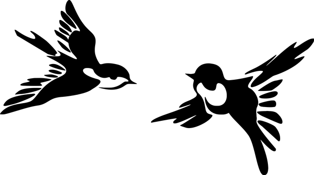 Stěhovavá jiřička obecná